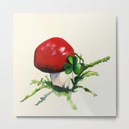 mushroom Metal Print
