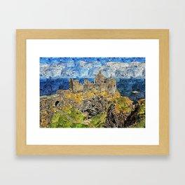 Dunluce Castle Framed Art Print