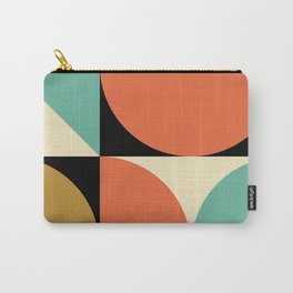 Mid Century Modern Geometric Abstract 235 Carry-All Pouch