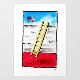 El Muro Art Print