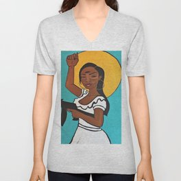 Warrior Unisex V-Neck