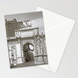 world war one  victorious Arch in new york city at 23rd street 1918 Stationery Cards