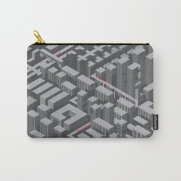 Brutalist Utopia Carry-All Pouch