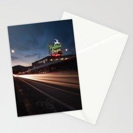 Golden Burnside - Portland, Oregon Stationery Cards