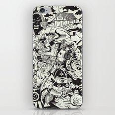 Circle Doodle iPhone & iPod Skin
