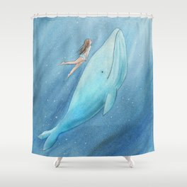 Just see the light Shower Curtain
