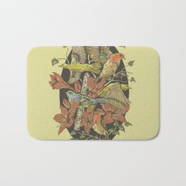 Robins and Warblers Bath Mat