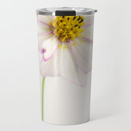 Sensation Cosmos White and Pink Travel Mug