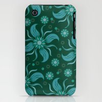 Floral Obscura iPhone (3g, 3gs) Slim Case