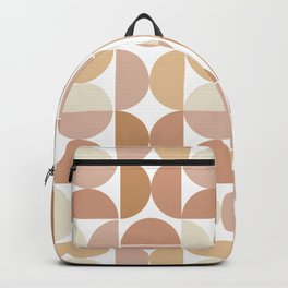 Mid Century Modern Geometric Pastel No. 2 Backpack