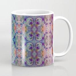 Moon Stars Ornate Pattern Coffee Mug