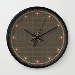 Maya pattern 2  Wall Clock