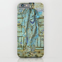 Morning Glories By James Mcneill Whistler   Reproduction iPhone Case