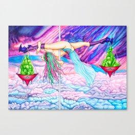 Pole Stars - LIBRA Canvas Print