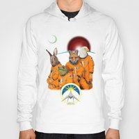 starfox Hoodies featuring STARFOX - The Lylat Space Program by John Medbury (LAZY J Studios)