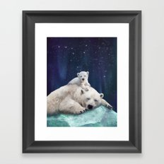 Polar Bears Framed Art Print