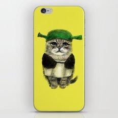 Shreky Cat iPhone Skin