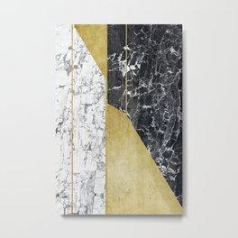 marble hOurglass Metal Print