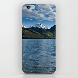 Sunset over Twin Lakes iPhone Skin