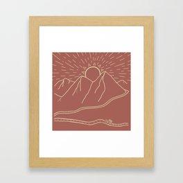 Where to? Framed Art Print
