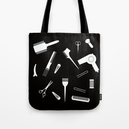 Hairdressing Tools Tote Bag