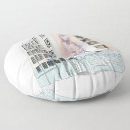 125 Manners Street Floor Pillow