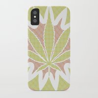 cannabis iPhone & iPod Cases featuring The Cannabis Case. by Space Jungle