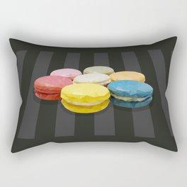 geometric macaroon sweet Rectangular Pillow