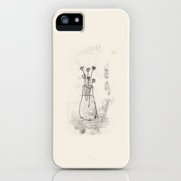 forgotten flowers iPhone Case