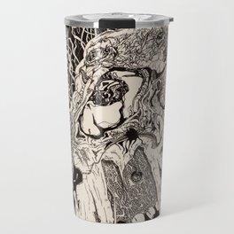 Entanglement (Untitled Face II) Travel Mug