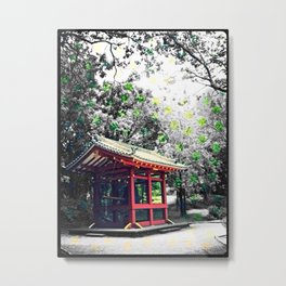 The Bell Temple Metal Print