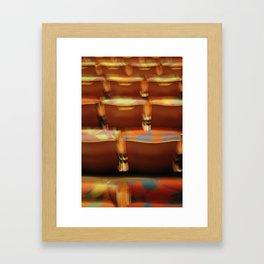 Seating Framed Art Print