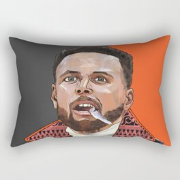 Curry, The Shooter from The Bay Rectangular Pillow