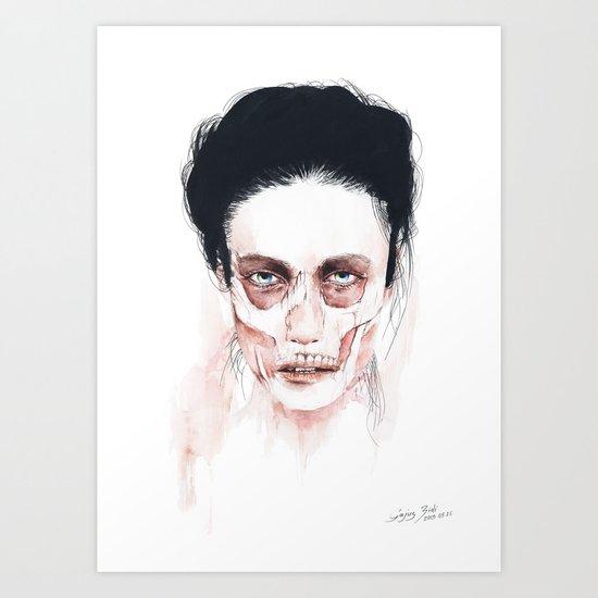 Deep cuts Art Print
