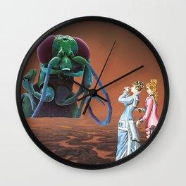 Visions Through the Monocular Wall Clock