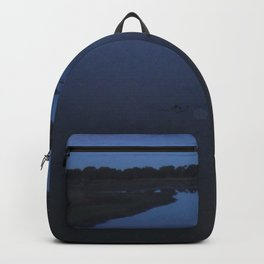 Creek at dusk Backpack