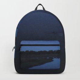 Creek at dusk Backpack