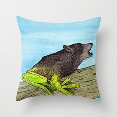 Froolf Throw Pillow