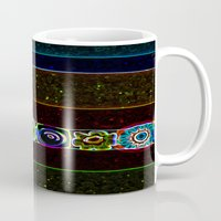starry night Mugs featuring Starry Starry Night by Lior Blum