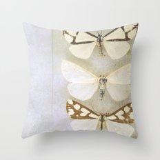 Moth Wings Throw Pillow