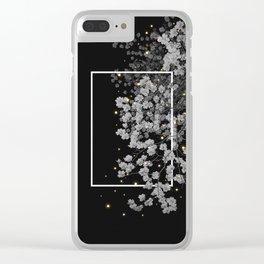 fugacious Clear iPhone Case