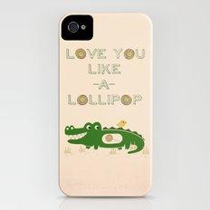 Like A Lollipop iPhone (4, 4s) Slim Case