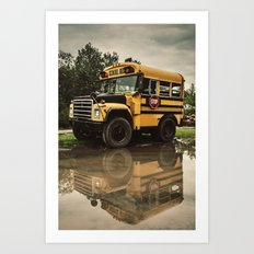 The Short Bus Art Print