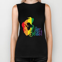 LGBT T-Shirt Funny Her Beast Lesbian Gay Pride Gift Apparel Biker Tank