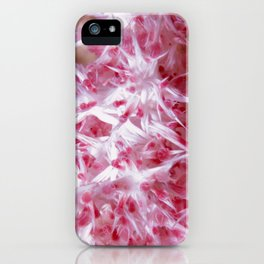 Pink Grasping Coral iPhone Case