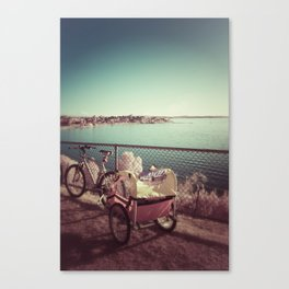 rested Canvas Print