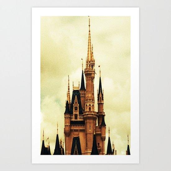 Where Dreams Come True Art Print