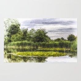 Lily Pond Art Rug