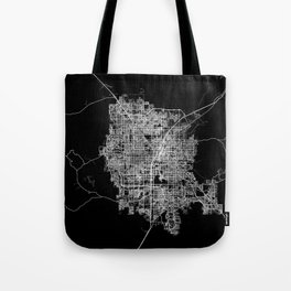 Las Vegas map Tote Bag