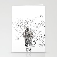 bane Stationery Cards featuring Bane by justjeff